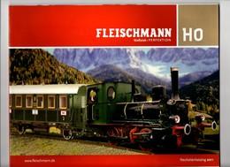 Catalogue Fleischmann 2011. 74 Pages. Modèles Réduits Ferroviaires. HO. - Books And Magazines