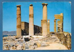 RHODES RODI ACROPOLE DE LINDOS 1963 STAMP SCOUT - Grecia