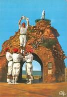 Cartolina Biarritz Danse De Saint Michel D' Arretxinga Groupe Bi Harri - Non Classificati