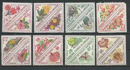 CAMEROUN Scott J34-J49 Yvert Taxe 35-50 (16) (0,50F, 1F, 1,50F, 2F)*,(5F, 1F, 20F,40F)**  Cote 10$ 1963 - Cameroun (1960-...)