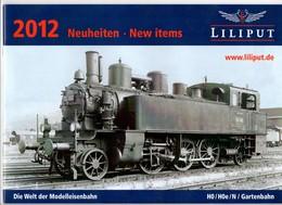 Catalogue Lilliput 2012. 40 Pages. Modèles Réduits Ferroviaires. - Books And Magazines