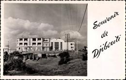 Cp Djibouti Dschibuti, La Nouvelle Centrale, Gebäudeansicht - Sonstige
