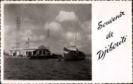 Cp Djibouti Dschibuti, Batiment De La Marine, Hafenpartie - Sonstige