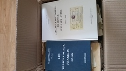 Les Tarifs Postaux Français 1627-1969 Et Catalogue Des Seuls Sur Lettres 1900-1949 Et Carton De Lettres France 1850-1970 - Unclassified