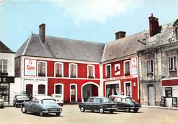 72-VIBRAYE- HÔTEL DE CHAPEAU ROUGE - France