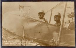 Aviation - Aviateur Militaire Suisse Marcel Lugrin Et Observateur De Kaenel - Weltkrieg 1914-18