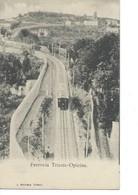 Cpa-Italie-Ferrovia-Trieste-Opicina - Trieste