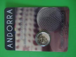 Andorra  2euro Cc- 25ª. Radio E Televisão O - 2016  UNC - Andorra