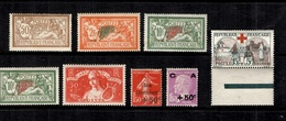 France Belle Petite Collection De Bonnes Valeurs Neufs * 1900/1935. B/TB. A Saisir! - Ungebraucht
