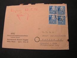 DP Mihla  MeF Marx 1950 - Soviet Zone