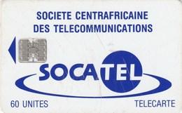 Central African Republic - Logo - Blue - Centraal-Afrikaanse Republiek