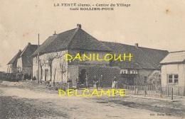 39 // LA FERTE   Centre Du Village, Café ROLLIER POUX   Edit Rollier Poux / - France