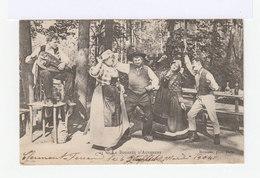 La Bourrée Auvergnate. (2761) - Danses