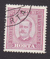 Horta, Scott #2, Used, King Carlos, Issued 1892 - Horta