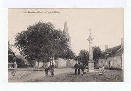 Touchay. Cher. Place De L'Eglise. Avec ânes, Enfants. (2762) - France