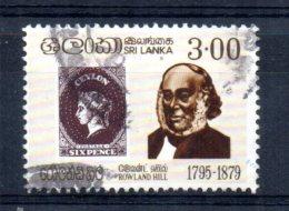 Sri Lanka - 1979 - Sir Rowland Hill Death Centenary - Used - Sri Lanka (Ceylan) (1948-...)
