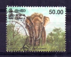 Sri Lanka - 1998 - 50r Bull Elephant - Used - Sri Lanka (Ceylan) (1948-...)