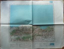 Carte Topographique ALGER 1949 - Topographical Maps