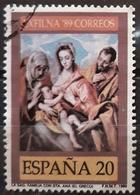 ESPAÑA 1989 Exfilna'89. USADO - USED. - 1931-Hoy: 2ª República - ... Juan Carlos I