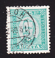 Horta, Scott #5, Used, King Carlos, Issued 1892 - Horta