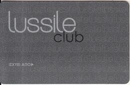 GREECE - Lussile Club, Member Card, Sample - Altre Collezioni