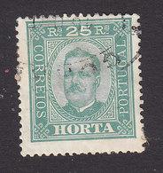 Horta, Scott #5a, Used, King Carlos, Issued 1892 - Horta