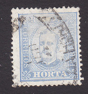 Horta, Scott #6, Used, King Carlos, Issued 1892 - Horta