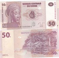 Congo DR - 50 Francs 2013 UNC Lemberg-Zp - Democratic Republic Of The Congo & Zaire