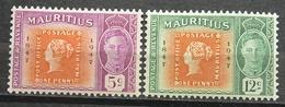 Mauritius  217/18**  Siehe Bild (GA12 - Mauritius (1968-...)