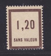 FRANCE FICTIF N°  F50 ** Timbre Neuf Gomme D'origine Sans Trace De Charnière -TB - Phantom