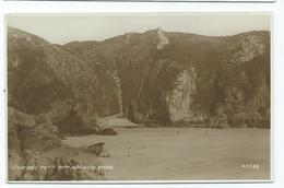 Postcard Guernsey .   Unused   Rp Petit Port Steps.    Pub. Photochrom - Guernsey