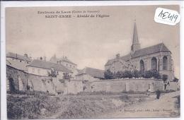 SAINT-ERME- ABSIDE DE L EGLISE - Laon