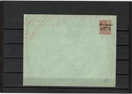 CTN27COL5-  LEVANT ENV. 15c TAXE REDUITE 147x112mm NEUVE - Levant (1885-1946)