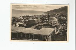 TIBERIAS (TIBERIADE) 13 GENERAL VIEW AND SEA OF GALILEE - Israele