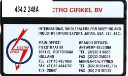 Telefoonkaart  LANDIS&GYR NEDERLAND * RCZ.434.02  248a * Electro Circel *  TK * ONGEBRUIKT * MINT - Nederland