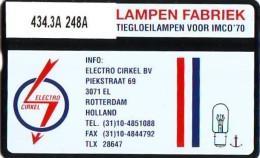 Telefoonkaart  LANDIS&GYR NEDERLAND * RCZ.434.03a  248a * Electro Circel *  TK * ONGEBRUIKT * MINT - Nederland