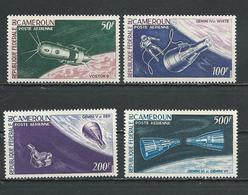 CAMEROUN Scott C59-C62 Yvert PA70-PA73 (4) ** Cote 16,00$ 1966 - Cameroun (1960-...)