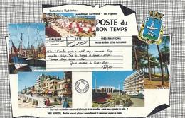 VENDEE - 85 - SABLES D'OLONNE - CPSM PF NB - Multivues - Sables D'Olonne