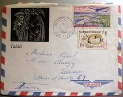 Enveloppes Timbrée Polynesie Française 1965 - Nouvelle-Calédonie