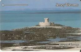 JER3 TARJETA DE JERSEY DEL ROCCO TOWER (2 JERD) - [ 7] Jersey Y Guernsey