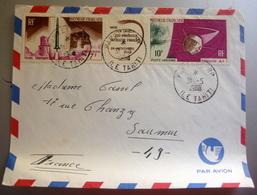 Enveloppes Timbrée Polynesie Française 1966 - Nouvelle-Calédonie