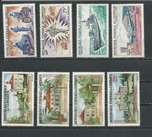 CAMEROUN Scott 425-428, C73-C76 Yvert 446-449, PA84-PA87 (8) ** Cote 8,00$ 1966 - Cameroun (1960-...)