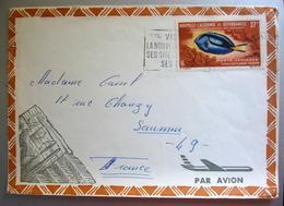 Enveloppe Timbrée Nouvelle Calédonie Et Dépendances - Lettres & Documents