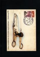 France / Frankreich 1978 Gymnastics World Championship Interesting Maximumcard - Gymnastik