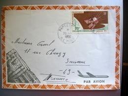 Enveloppe Timbrée Polynésie Française 1966 - Polynésie Française