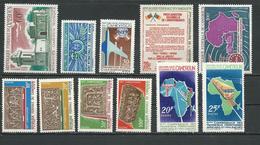 CAMEROUN Scott C83,457-8,471-2,452,C90,453-4 Yvert PA94,438-9,451-4,433,PA101,434-5 (11) ** Cote 17,50$ 1967 - Cameroun (1960-...)