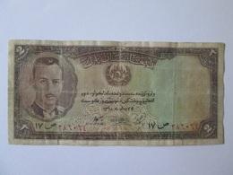 Rare! Afghanistan 2 Afghanis 1939 Banknote - Afghanistan