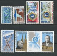 CAMEROUN Scott 455-6, 457-8, C91, C95a Yvert 436-7, 438-9, PA102, PA106-7 (7) ** Cote 11,00$ 1967 - Cameroun (1960-...)