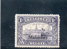 MALMEDY 1920 ** - Guerre 14-18