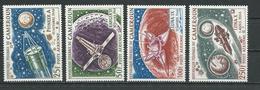 CAMEROUN Scott C84-C87 Yvert PA95-PA98 (4) ** Cote 8,00$ 1967 - Cameroun (1960-...)